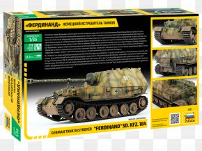 Tank - Germany Tank Destroyer 1:35 Scale Elefant PNG
