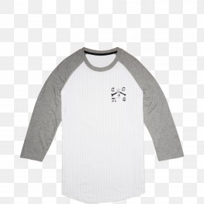 T-shirt - Long-sleeved T-shirt Chuck Taylor All-Stars White Baseball PNG
