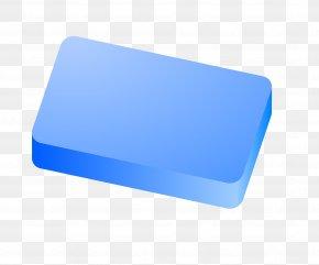 Soap - Rectangle Blue PNG