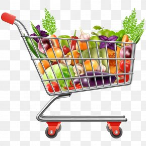 Vegetables - Shopping Cart PNG