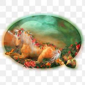 Sleep Unicorn - Unicorn Wall Decal Pegasus Horse Painting PNG