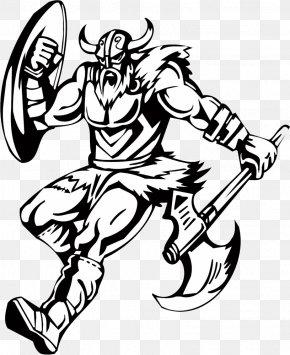Mighty Vikings - Viking Drawing Illustration PNG