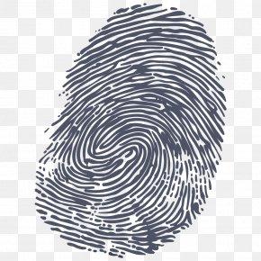 Fingerprint Clipart - Fingerprint Hand PNG