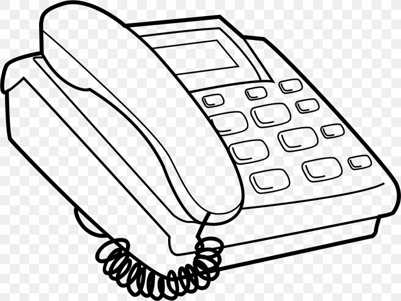 Push-button Telephone Coloring Book Computer, PNG, 1610x1211px