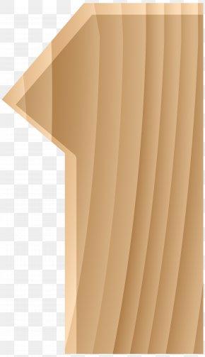 Wooden Number One Transparent Clip Art Image - Clip Art PNG