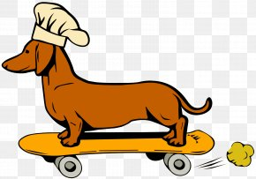 Hot Dog Meal Deal - Puppy Dog Breed Dachshund Hot Dog Clip Art PNG