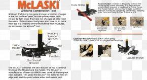 Axe - McLeod Pulaski Tool Axe Rake PNG