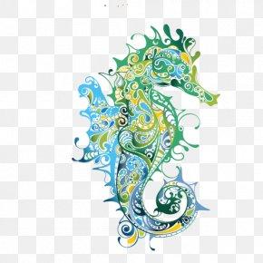 Dinosaur - Seahorse Drawing Clip Art PNG