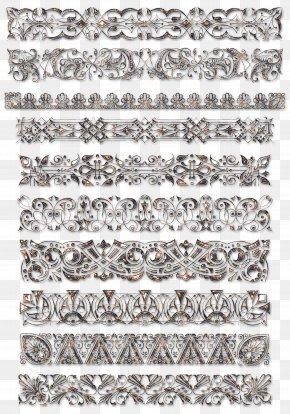 Lace Boarder - Europe Lace Textile Idea PNG