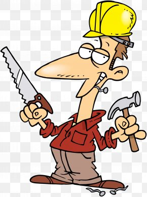 Construction Worker - Hammer Cartoon Royalty-free Clip Art PNG