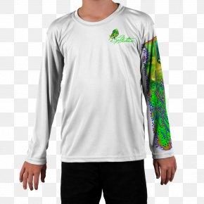 Kids T Shirt - Long-sleeved T-shirt Crew Neck PNG