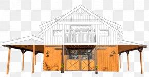 Pole Barn Garage Plans - Pole Building Framing Barn Roof House PNG