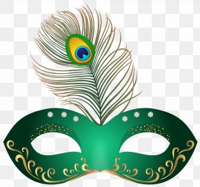 Green Carnival Mask Clip Art Image - Carnival Of Venice Mask Clip Art PNG