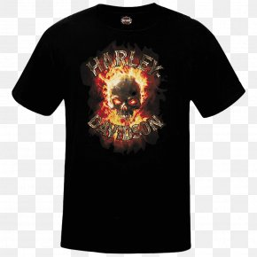 T-shirt - T-shirt Harley-Davidson Of New York City Motorcycle Sleeve PNG