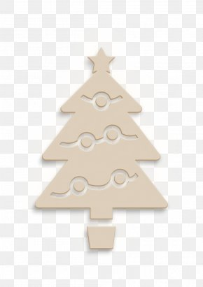 Ornament Evergreen - Christmas Tree Icon PNG