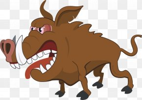 Boar - Cartoon Royalty-free Illustration PNG