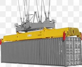 Crane - Ram Trucks Container Crane Spreader Intermodal Container PNG