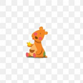 Cartoon Kangaroo - Cartoon Sticker PNG