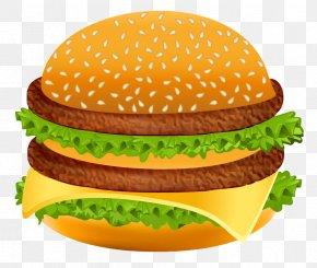 Hamburger Clipart Image - Hamburger Hot Dog Fast Food Clip Art PNG