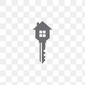 Black Key - Real Estate Logos Renting House PNG