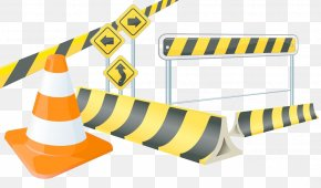 Textured Design Road Barricades - Barricade Euclidean Vector Architectural Engineering PNG