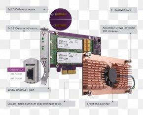 Qnap Systems Inc - QNAP Systems, Inc. Serial ATA Network Storage Systems Computer Hardware QNAP TS-253B-4G 2 Bay NAS PNG