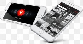 Image-stabilized Binoculars - Smartphone American Technologies Network Corporation Display Resolution Optics Feature Phone PNG