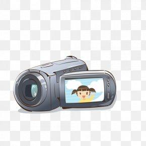 Camera - Video Camera Cartoon Photography PNG
