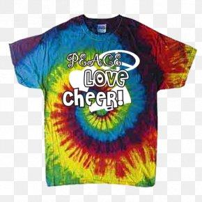 T-shirt - T-shirt Hoodie Tie-dye Sleeve PNG