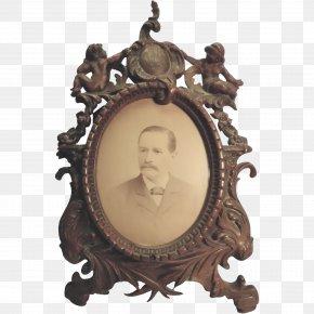 Leaf Frame - Victorian Era Picture Frames Decorative Arts Mirror PNG