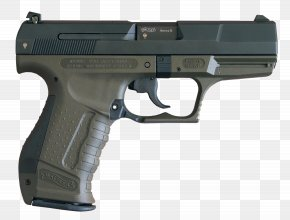 Handgun Image - Walther P99 Pistol 9×19mm Parabellum Carl Walther GmbH Firearm PNG