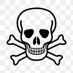 Skull - Skull And Bones Skull And Crossbones Human Skull Symbolism Clip Art PNG
