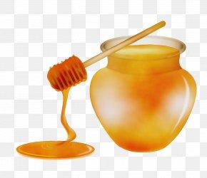 Baby Food Spoon - Wax Honey Cutlery PNG
