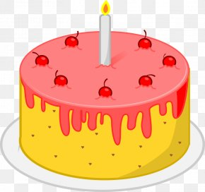Birthday Cake - Birthday Cake Party Food Clip Art PNG
