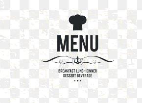 Menu Cover Decorative Material - Cafe Take-out Menu PNG