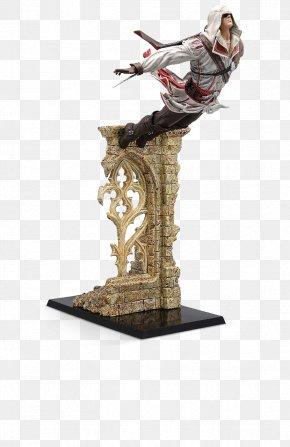 Leap Of Faith - Assassin's Creed II Ezio Auditore Assassin's Creed: Ezio Trilogy Assassin's Creed: The Ezio Collection Ubisoft Ezio Leap Of Faith Figure PNG