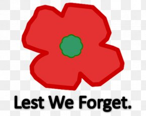 Lest We Forget Armistice Day Remembrance Poppy Anzac Day PNG
