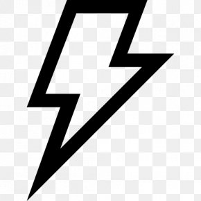 Lightning Icon - Logo Brand Triangle PNG