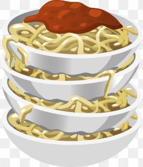 Macaroni Cliparts - Pasta Spaghetti With Meatballs Italian Cuisine Clip Art PNG