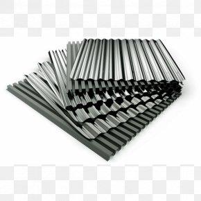 Roofing - Corrugated Galvanised Iron Metal Roof Sheet Metal Galvanization PNG