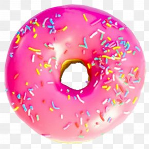 Unicorn Donut - Donuts Frosting & Icing National Doughnut Day Sprinkles Cream PNG