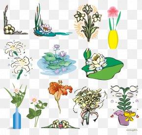 Hand-painted Floral Design - Floral Design Flower Clip Art PNG