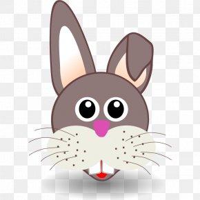 Buck Teeth Rabbit - Easter Bunny Santa Claus Paper Clip Art PNG