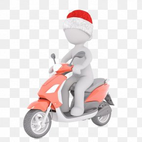 People Riding Electric - Scooter Motorcycle Moped Vehicle Pixabay PNG