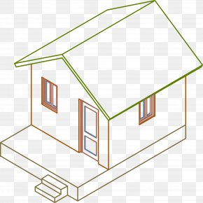 3d Model Home - Architecture House Daylighting Roof PNG