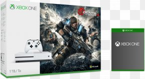Gears Of War 4 - Gears Of War 4 Xbox One Controller Microsoft Xbox One S Video Game Consoles Video Games PNG