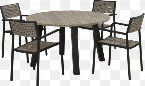 Four Legs Table - Table Garden Furniture Chair Dining Room Matbord PNG