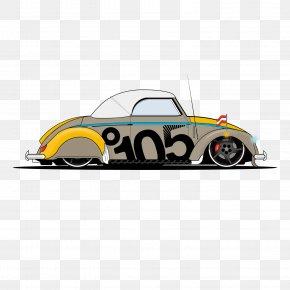 Vintage Car - Car Volkswagen Beetle Euclidean Vector PNG