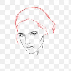 Famous People - Eye Cheek Chin Sketch PNG
