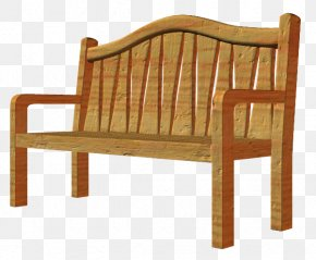 Chair - Bench Table Chair Wood PNG